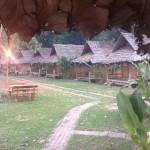 Vue d'ensemble des bungalows