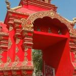 Magnifique entrée du Temple