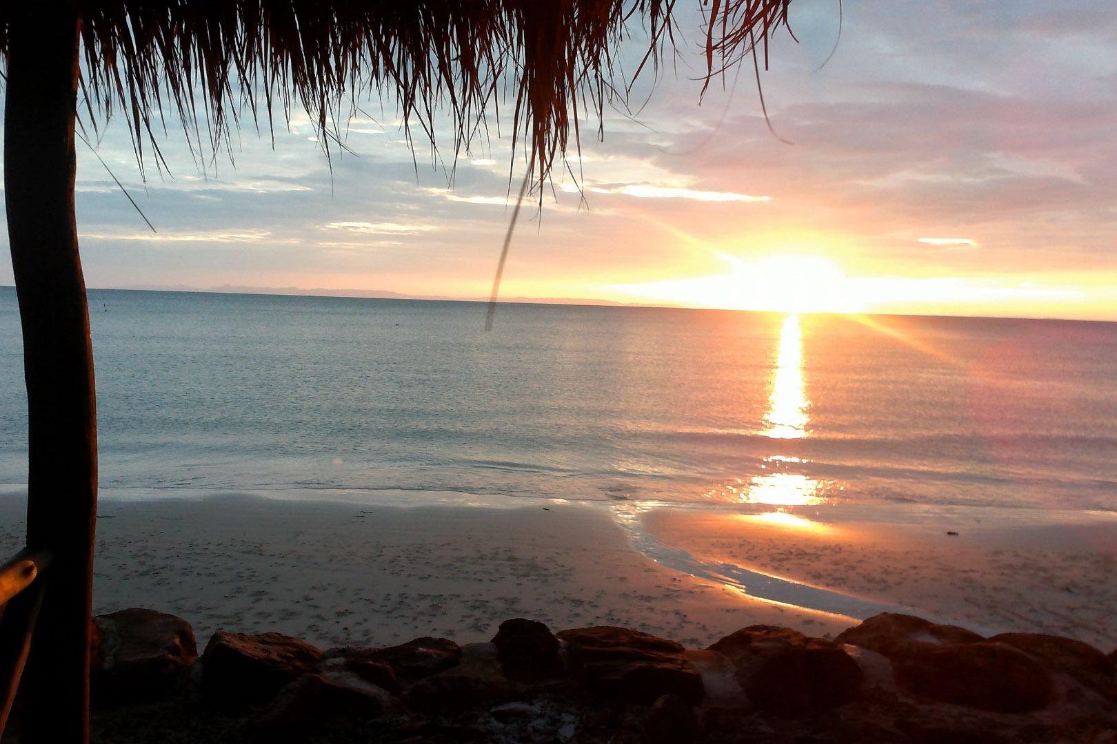 Coucher de soleil à Ban Cheun Beach