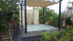 Le jacuzzi du Ban Bang Home Resort