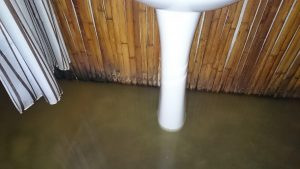 Ma salle de bain inondée !