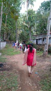 Sur le chemin du Temple