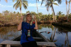 Promenade en barque dans les backwaters