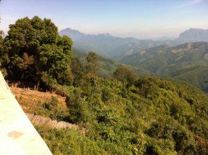 Route Luang Prabang - Vang Vieng